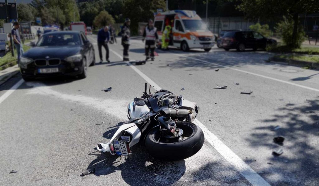 Motorcycle accident in Atlanta
