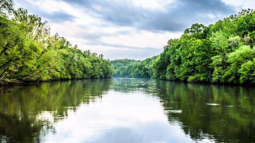 The Chattahoochee River.