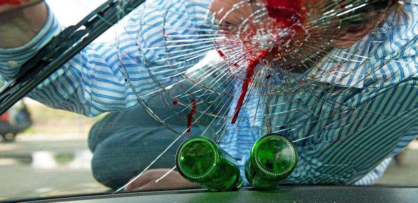 A pedestrian that has been struck by a drunk driver in Atlanta, GA