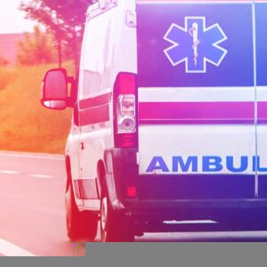 In a Crash with an Ambulance
