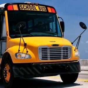 Picture of a school bus in Atlanta