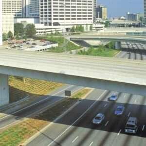 Man Spotted on Bridge in Atlanta