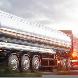 Truck Carrying a Gas Tanker Crashed