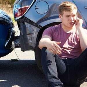 teenage car accident