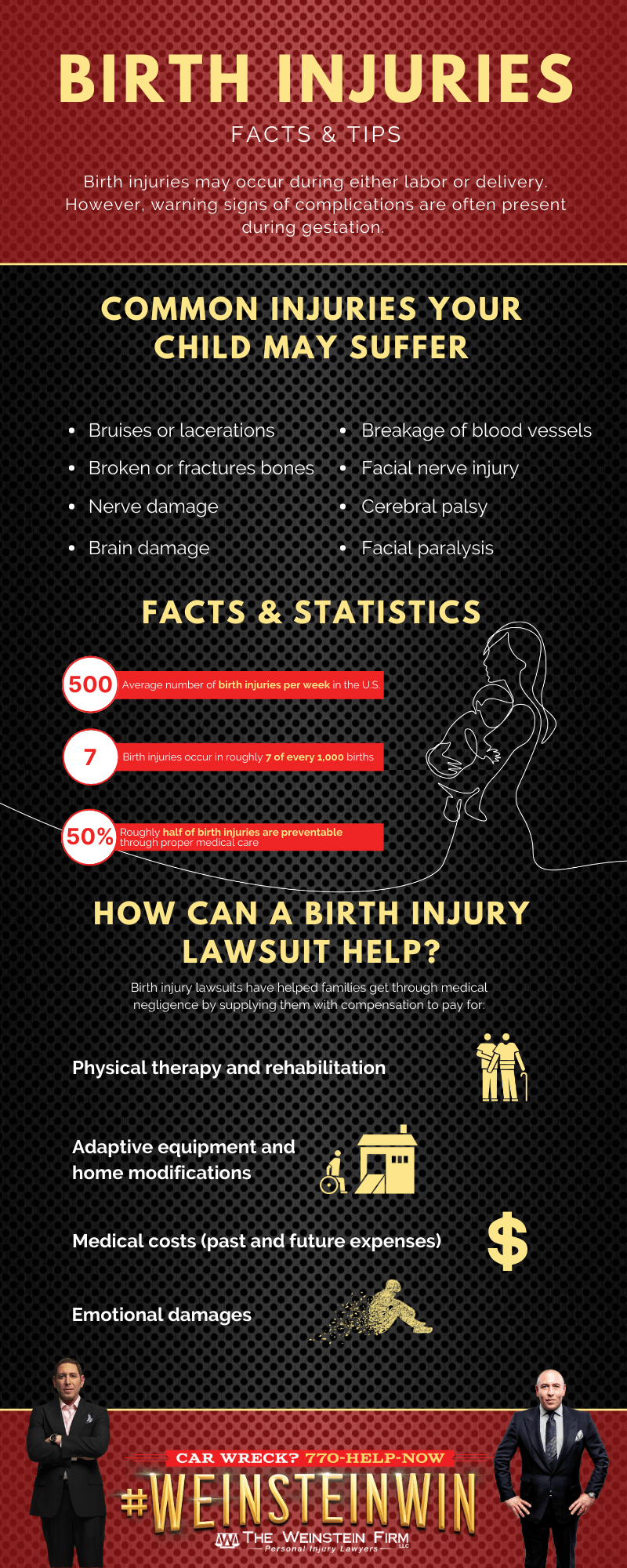 Birth Injury Facts and Tips