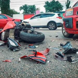 What are the most common causes of motorcycle accidents?