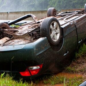Rollover Crash in Hall County