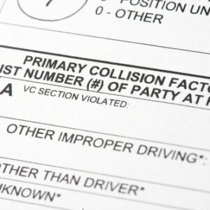 You should always request a police report after a speeding accident
