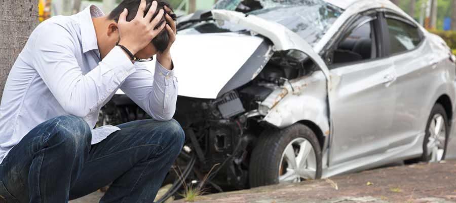 Car owner learning that he might be liable for the car accident